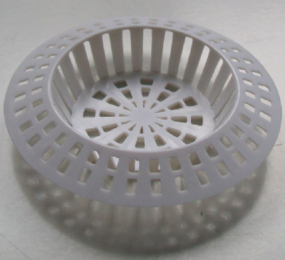 White Strainer for Baths and Sinks - 74000576